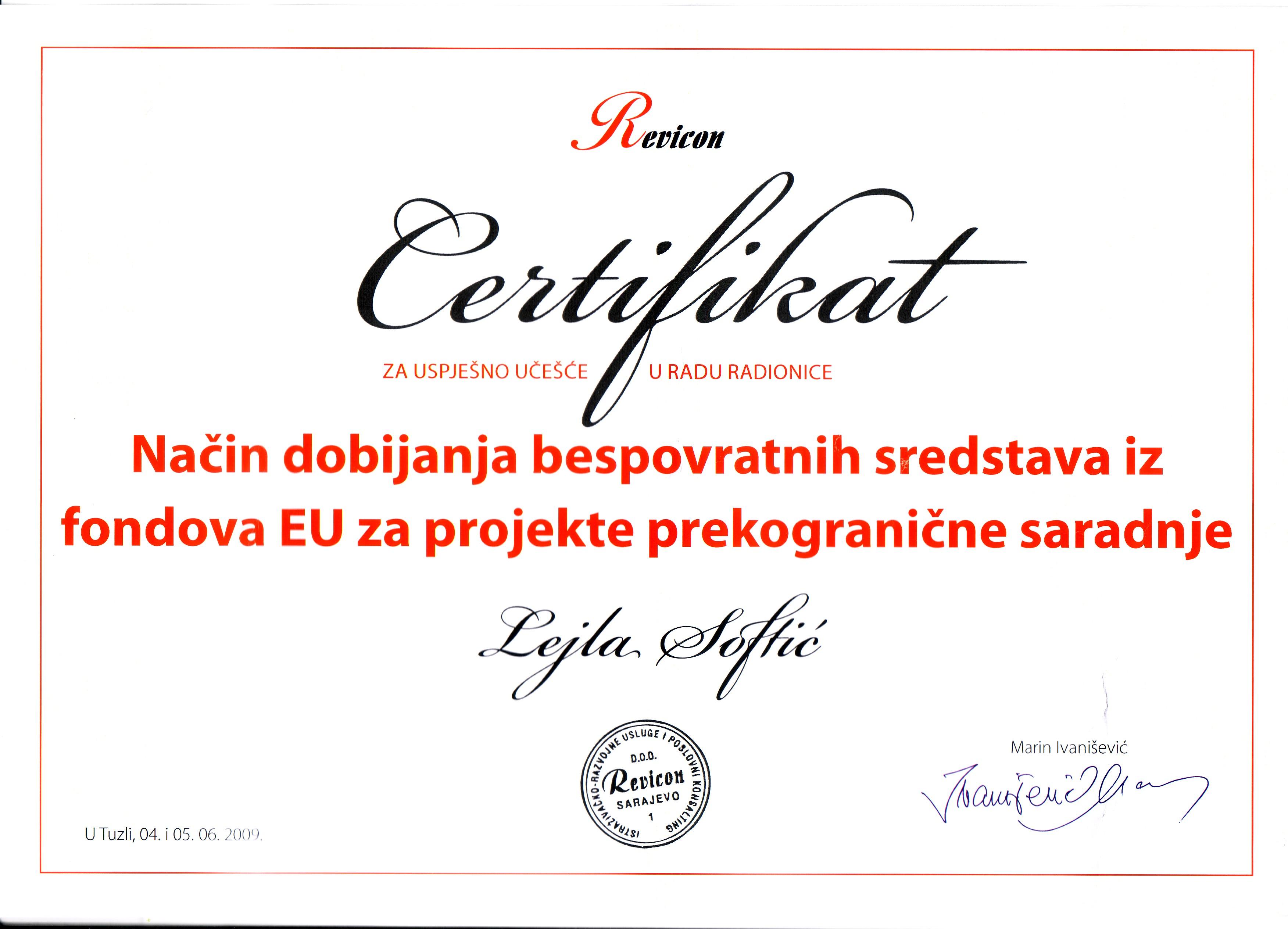 savjetnik konsultantske usluge u2013 h2020